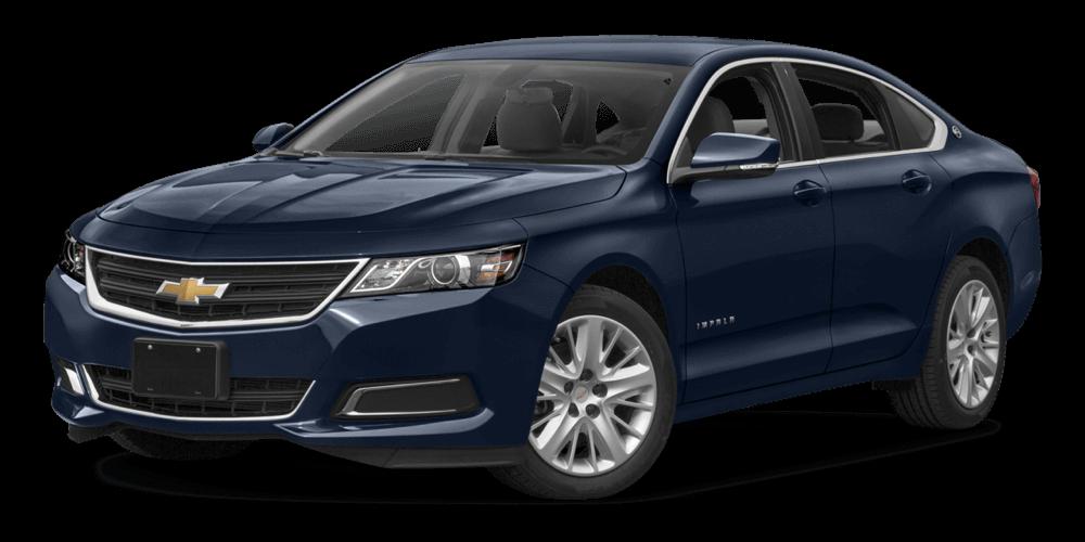 2017 Chevrolet Impala blue exterior