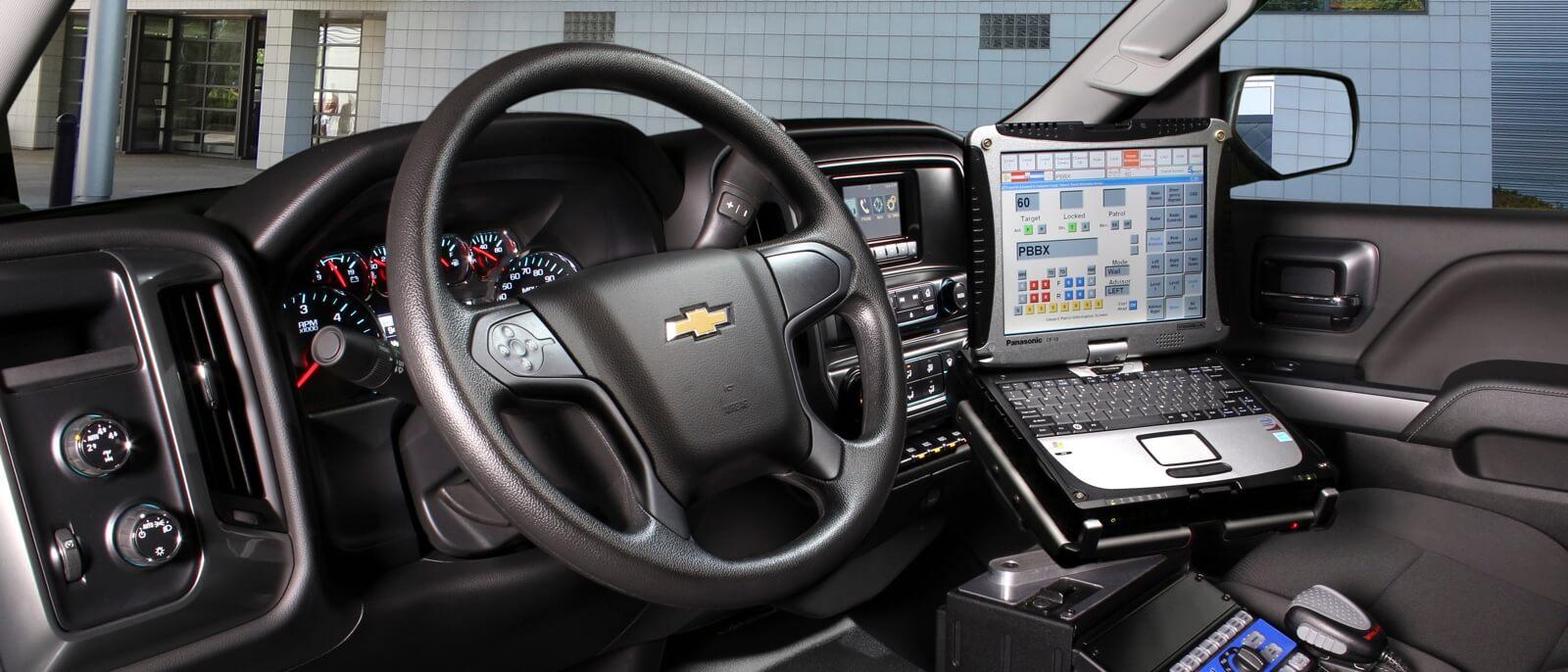 2017 Chevrolet Silverado 1500 front interior