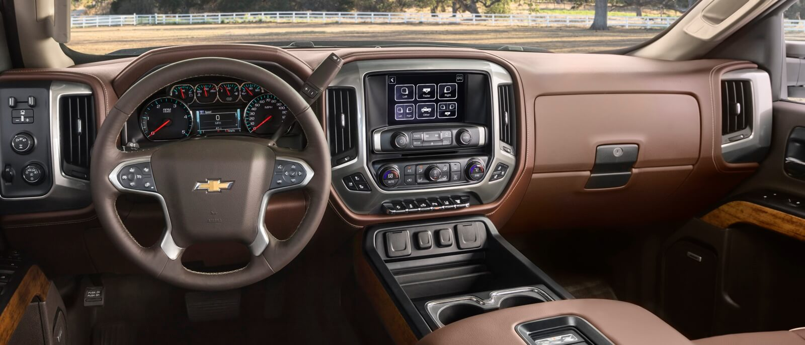 Chevy Silverado 2017 Interior