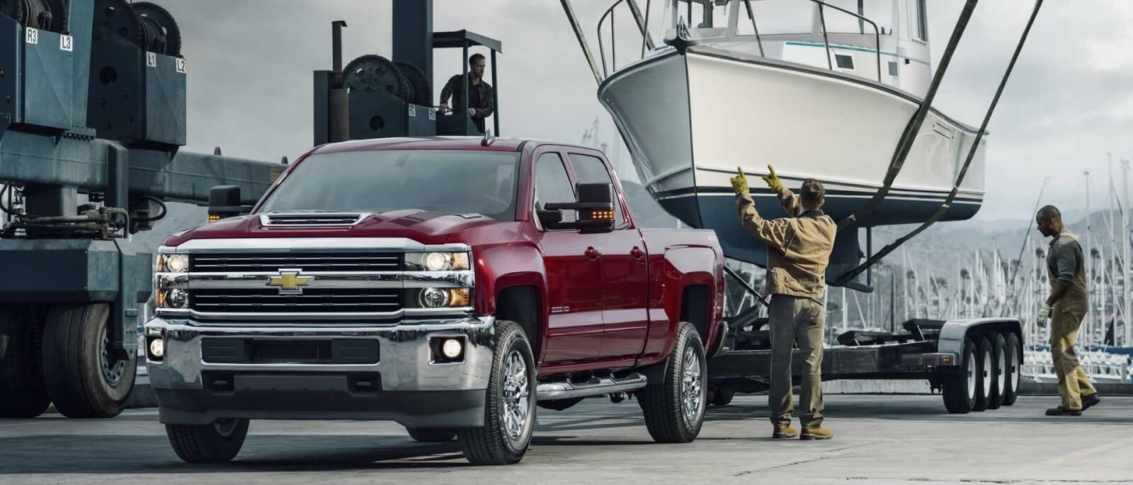 2017 Chevrolet Silverado 3500HD red exterior model