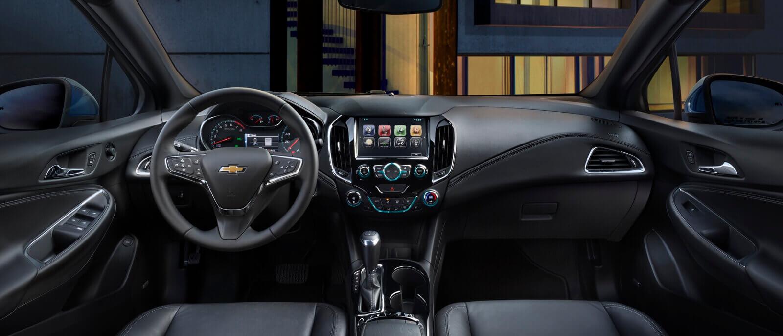 2017 Chevrolet Cruze Hatchback front interior