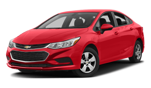 2017 Chevrolet Cruze red exterior model