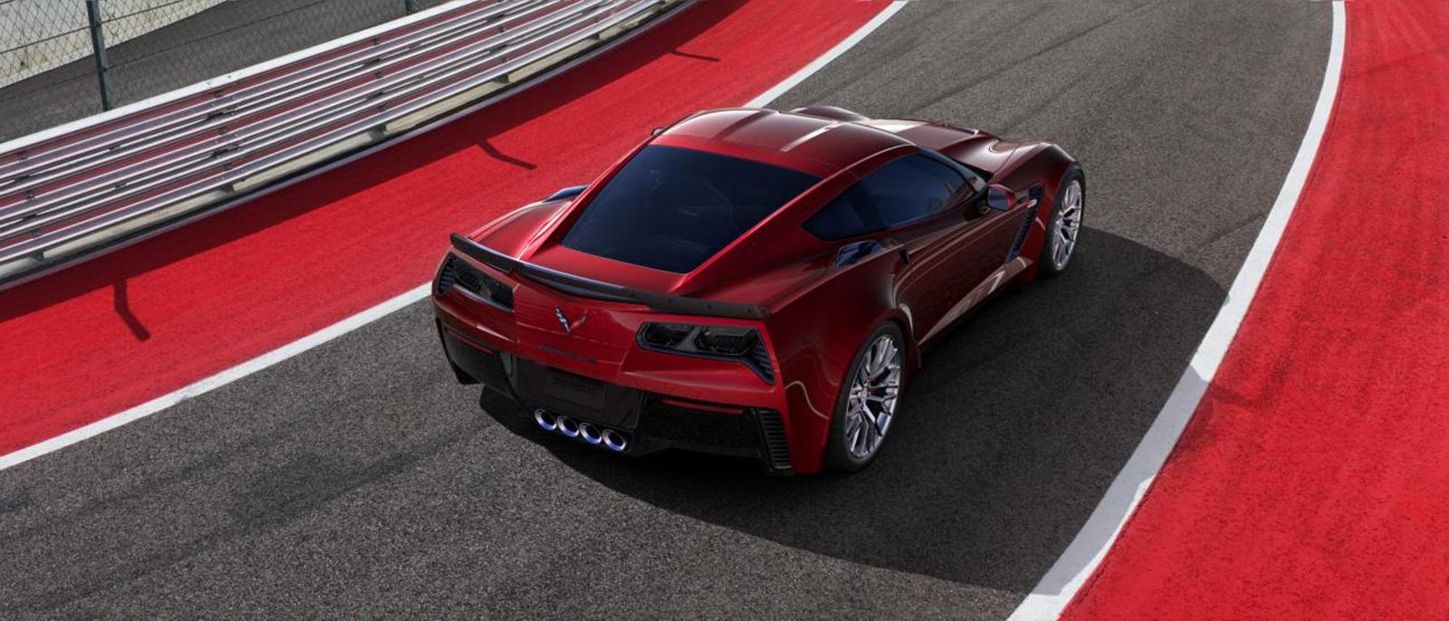 2016 Chevy Corvette Z06 Rear