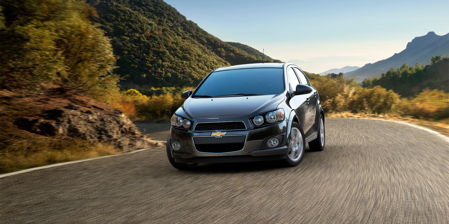 2013 Chevrolet Sonic sedan