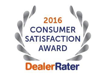 2016 Dealer Rater Award Sunrise Chevrolet
