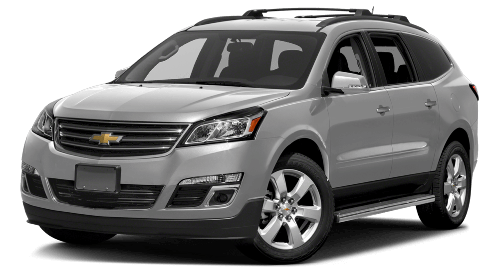 2017 Chevrolet Traverse grey exterior