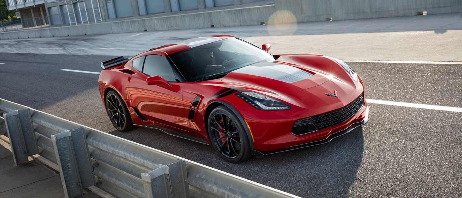 2017 Chevrolet Corvette Grand Sport red exterior model