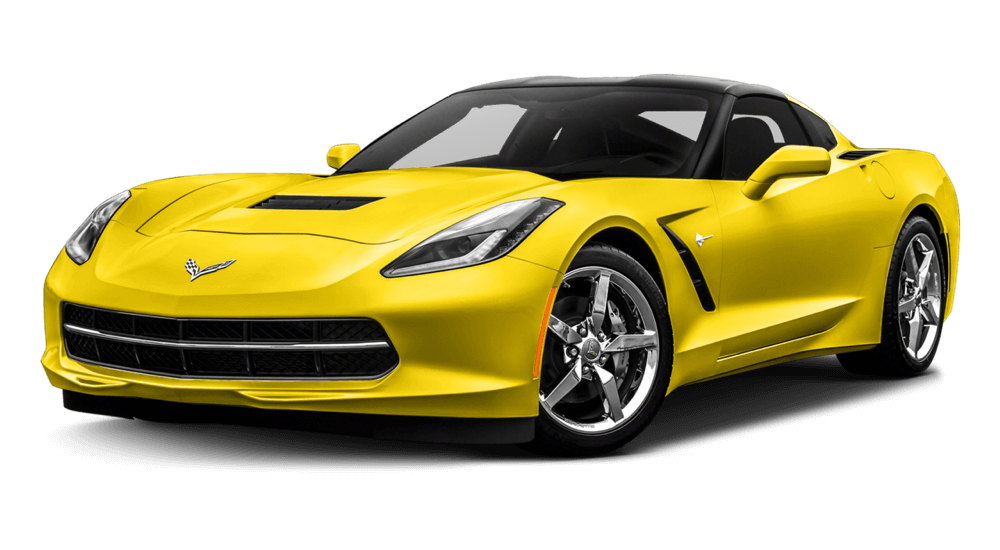 2017 Chevrolet Corvette Stingray yellow exterior