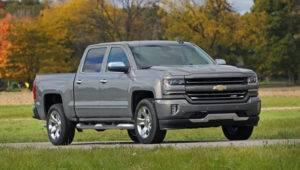 2017 Chevrolet Silverado 1500 on Road