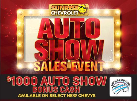 Chicago Auto Show Sales Event