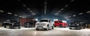 2017 Chevrolet Silverado 1500 Lineup