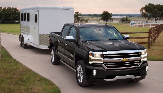 2017 Chevrolet Silverado 1500 tow trailer