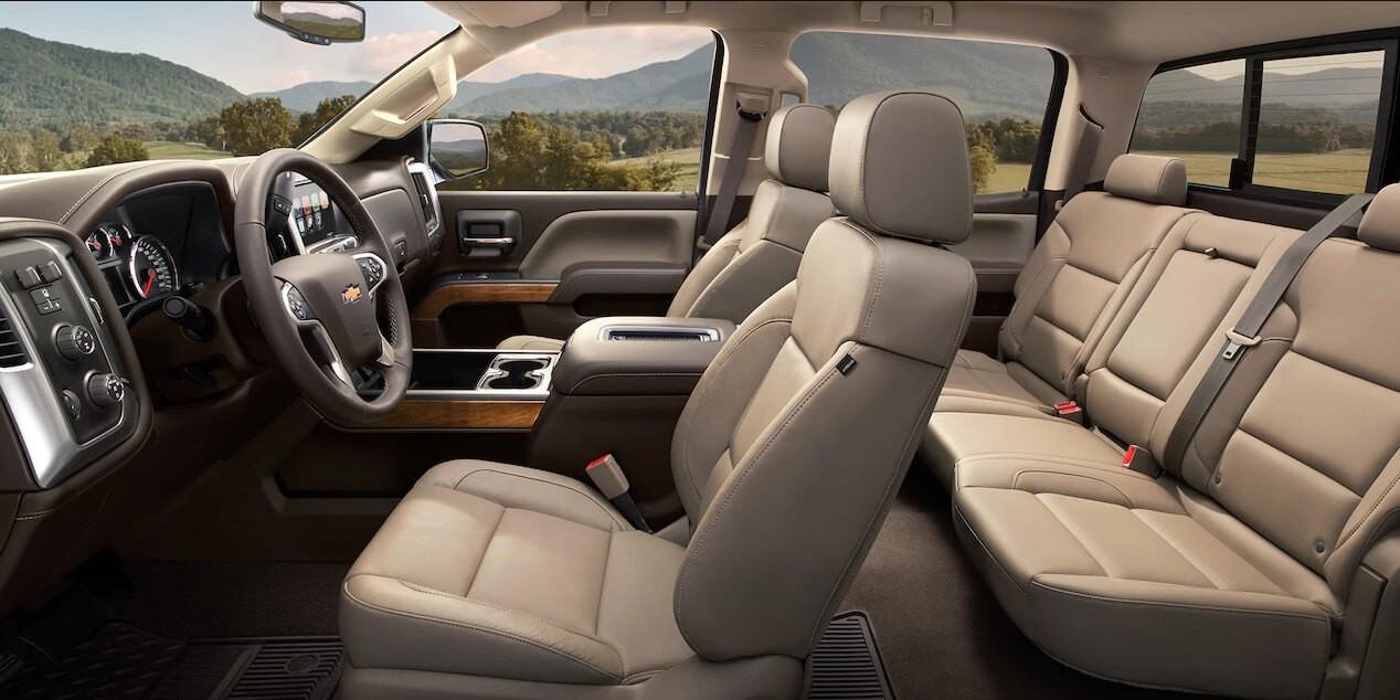 2017 Chevy Silverado trim interior