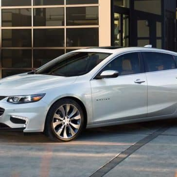2018 Chevrolet Malibu Exterior front side view