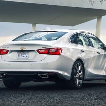 2018 Chevrolet Malibu Exterior backside view