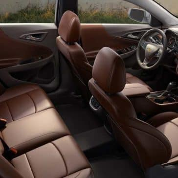 2018 Chevrolet Malibu Interior Seating View