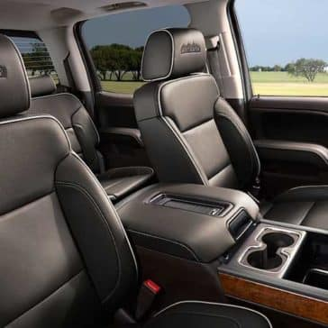 2018 Chevy Silverado 1500 Interior Seat View