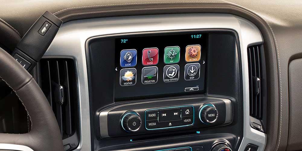 2018 Chevy Silverado 1500 Interior Front Console View