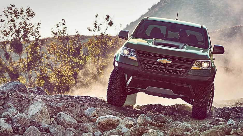 Performance Features of the New Chevrolet Colorado at Garber in Chicago, IL