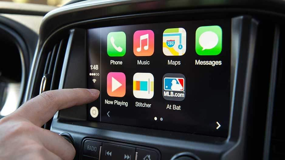 Technology Features of the New Chevrolet Colorado at Garber in Chicago, IL