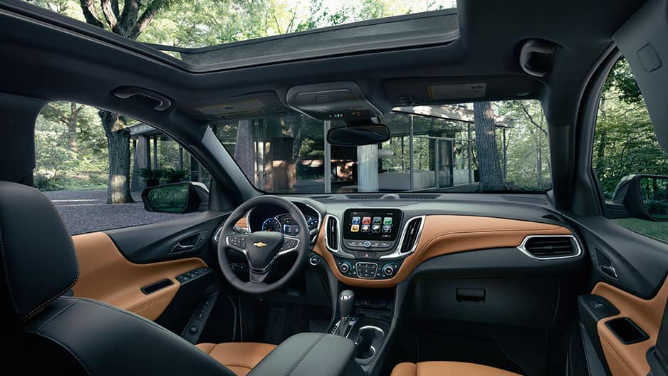 Interior Features of the New Chevrolet Equinox at Garber in Chicago, IL