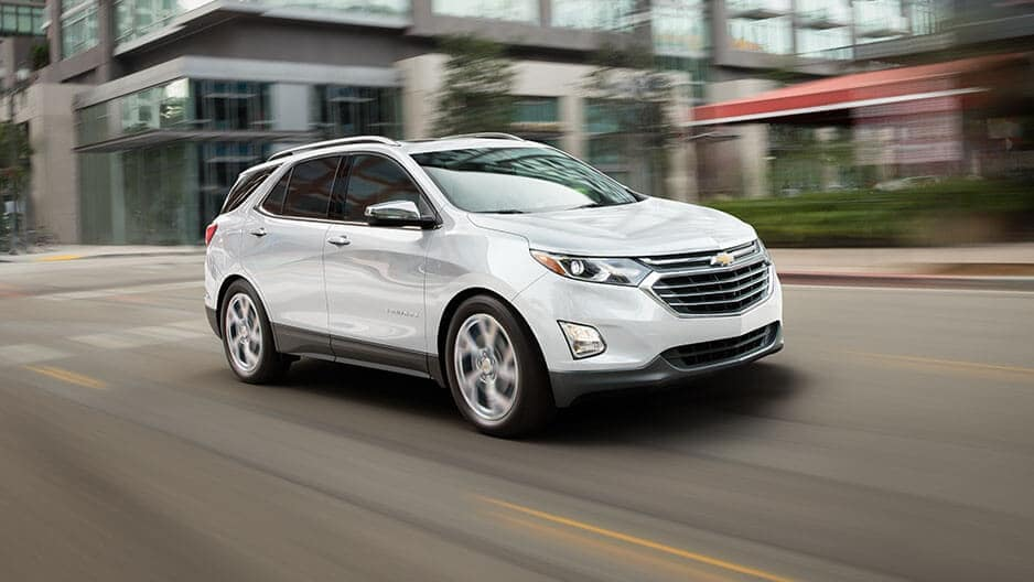Performance Features of the New Chevrolet Equinox at Garber in Chicago, IL