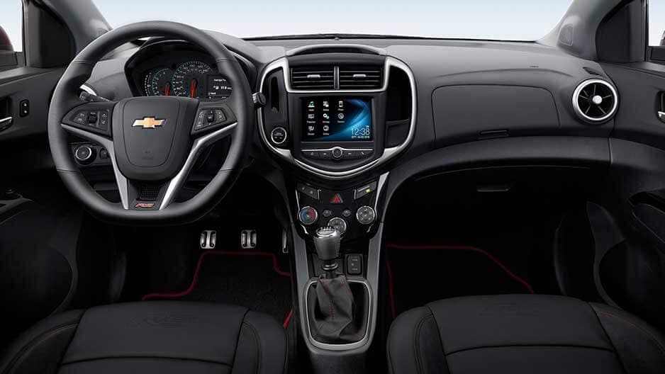Interior Features of the New Chevrolet Sonic at Garber in Chicago, IL