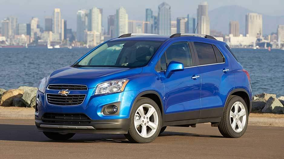 Exterior Features of the New Chevrolet Trax at Garber in Chicago, IL