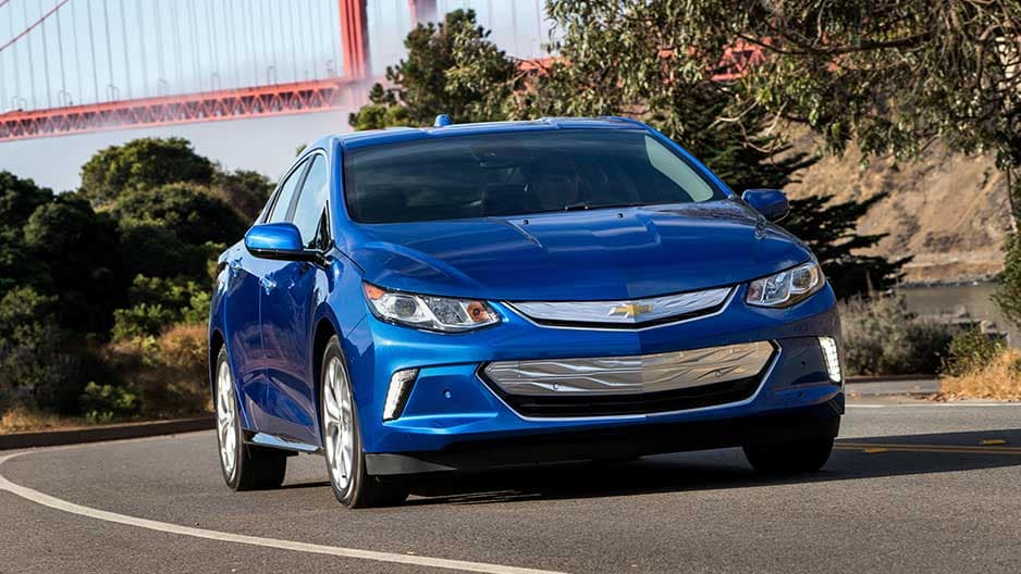 Exterior Features of the New Chevrolet Volt at Garber in Chicago, IL