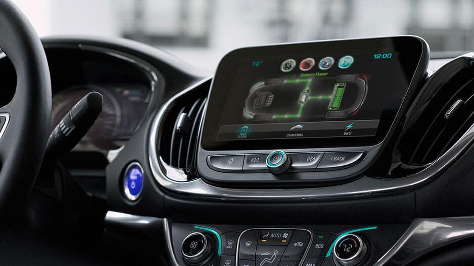 Technology Features of the New Chevrolet Volt at Garber in Chicago, IL