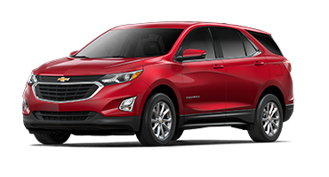 Red Chevrolet Equinox