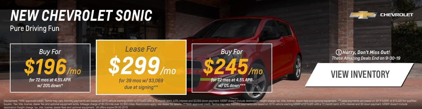 New Chevrolet Deals In Glendale Heights Sunrise Chevrolet