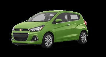 Green Chevrolet Spark