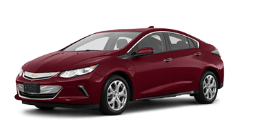 Red Chevrolet Volt
