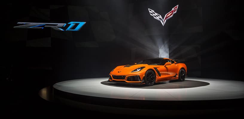 The fastest, most powerful production Corvette ever – the 755