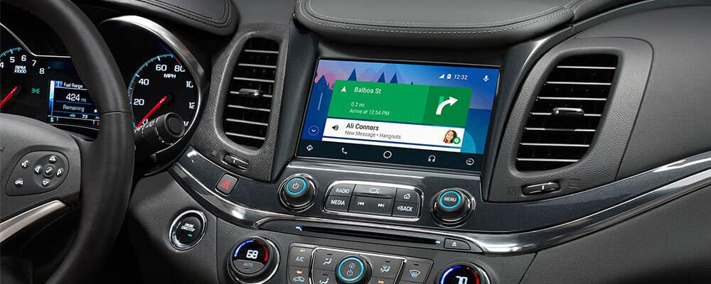 Android Auto Chevrolet
