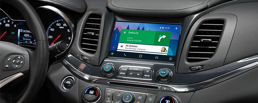 Android Auto Chevrolet