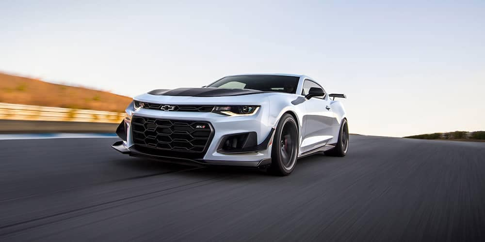 2018 Chevy Camaro White