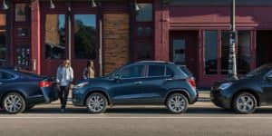 2018 Chevy Trax Parked