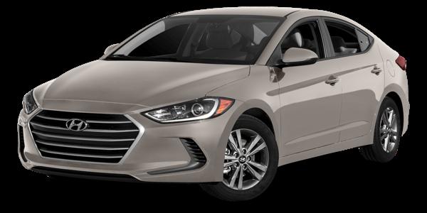 2018 Hyundai Elantra white background