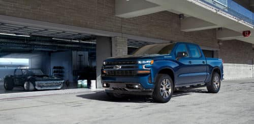 The all-new 2019 Silverado RST (new trim for 2019)