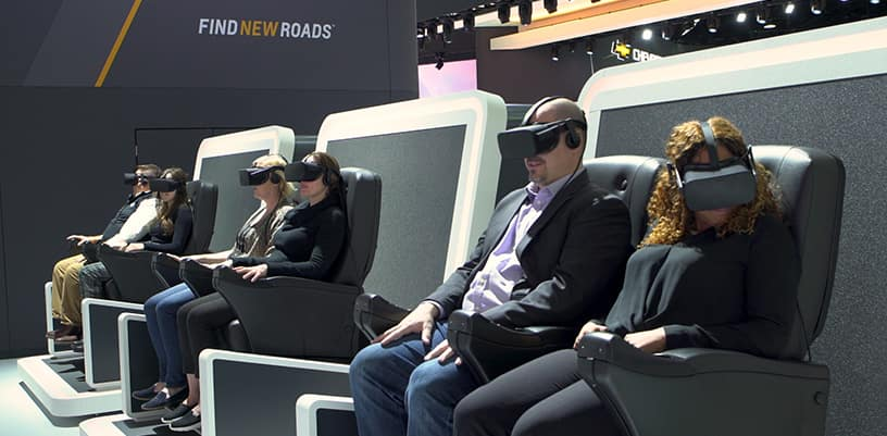 Chevrolet Virtual Dynamics Lab 4 D experience premiers at 2018 N
