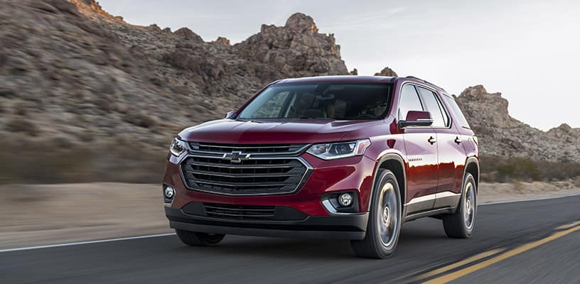 The 2018 Traverse RS features a more street inspired style, with
