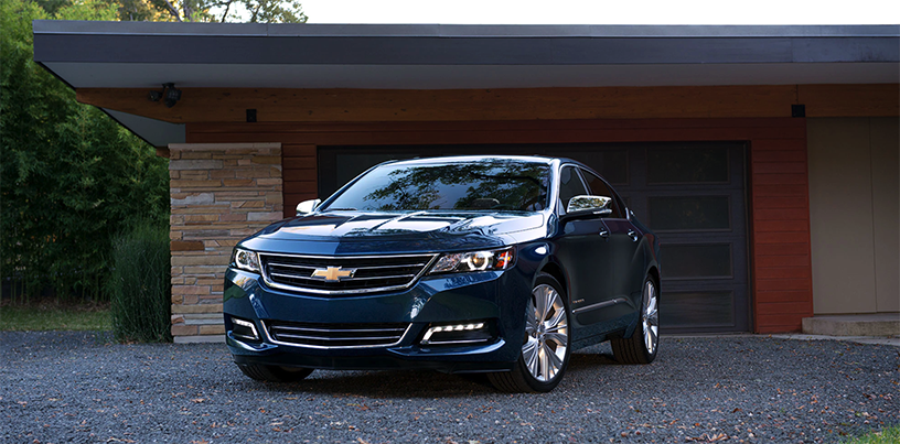 2018 Chevrolet Impala Front View