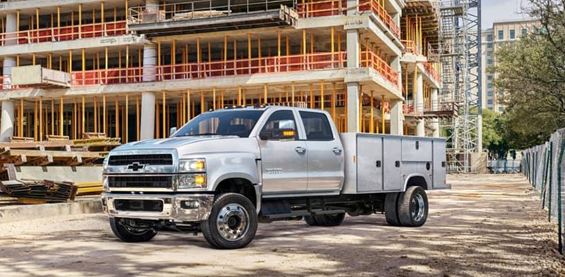 Chevrolet Unveils the 2019 Silverado 4500HD, 5500HD and 6500HD a