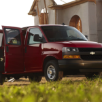 Work Harder in a Chevy Express Cargo