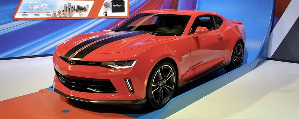 Launch Digital Marketing: Chicago Auto Show, Hot Wheels Edition of the 2018 Chevy Camaro