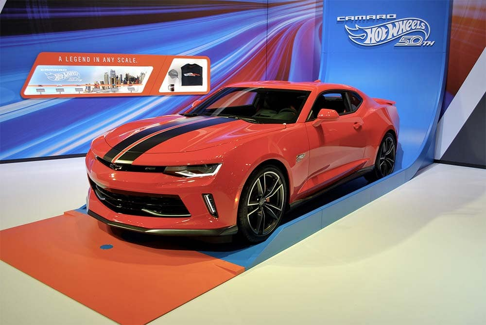 Launch Chicago Auto Show Hot Wheels Edition Camaro