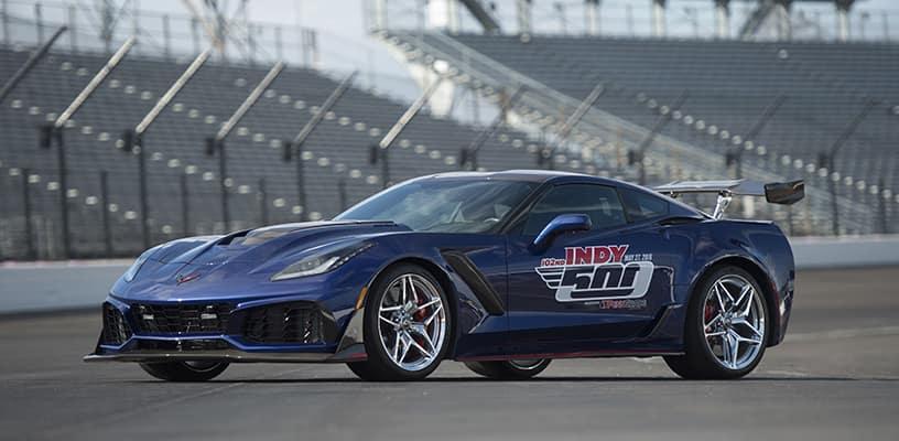 2019 Chevrolet Corvette ZR1 on Race Track