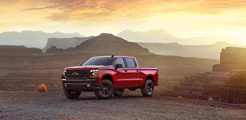 Red 2019 Chevrolet Silverado